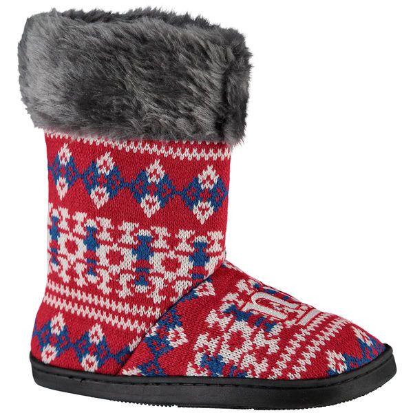 New York Giants Women's Aztec Boots - $34.99
