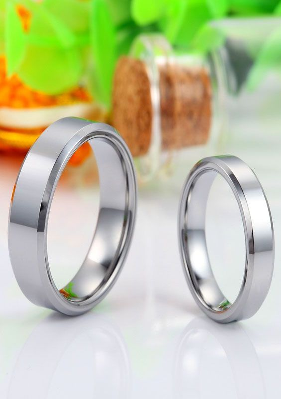 85 Best Images About Tungsten Wedding Bands On Pinterest