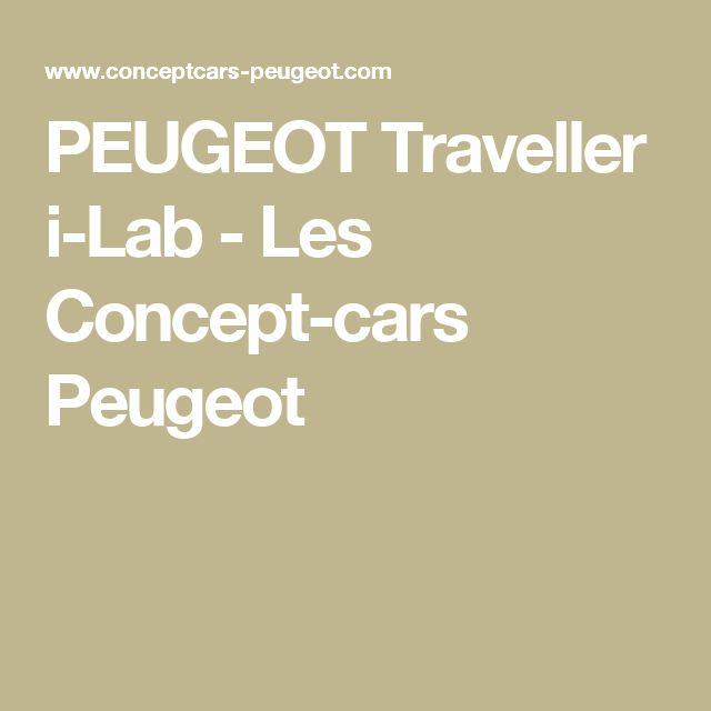 PEUGEOT Traveller i-Lab - Les Concept-cars Peugeot