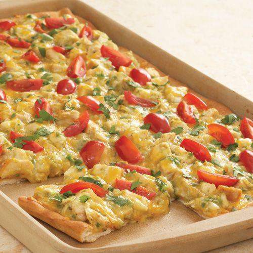 Chicken Enchilada Pizza - The Pampered Chef®  www.pamperedchef.biz/jodidillmon