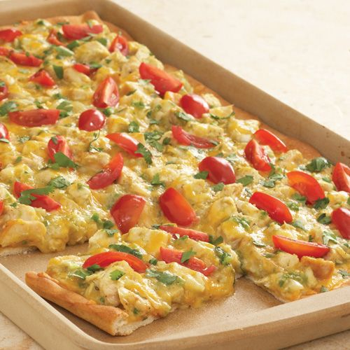 Chicken Enchilada Pizza - The Pampered Chef®