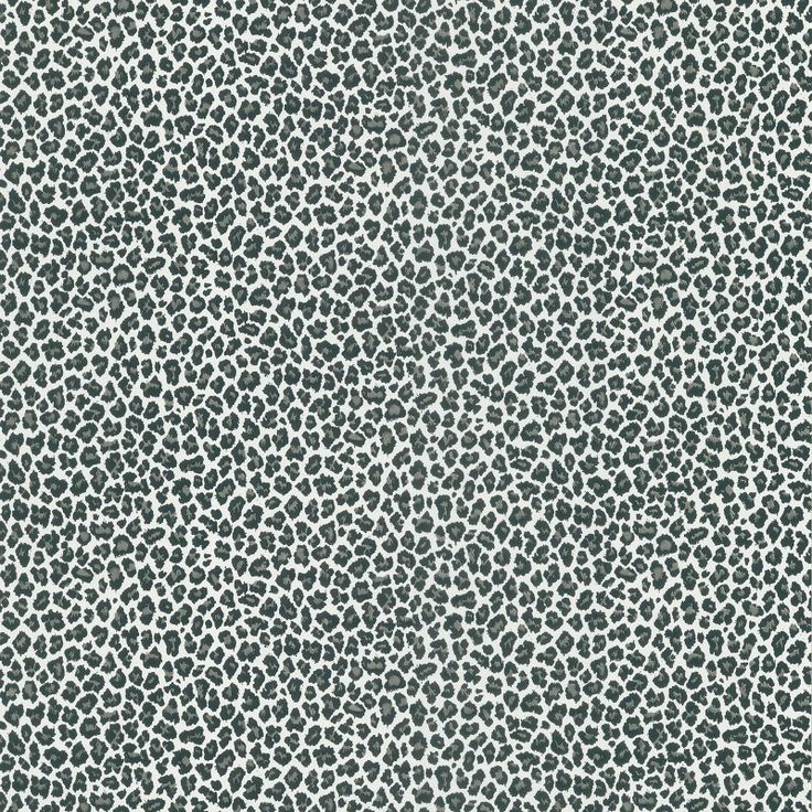 Brewster Sassy Cheetah Print Wallpaper Black - 443-62509