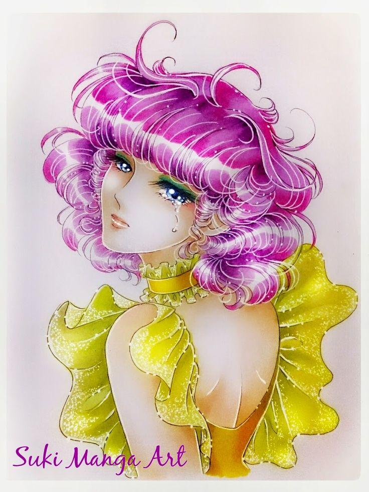 "Copic Marker Europe: ""The last sad melody"", Creamy Mami fan art by Suki Manga Art"