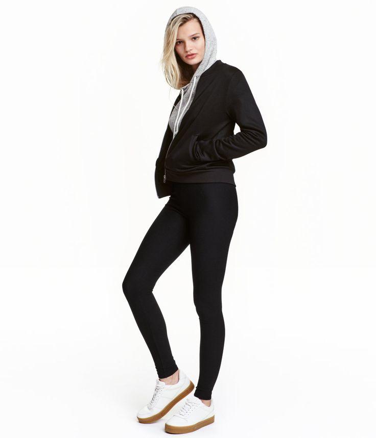 Leggings High waist  129 kr från H&M