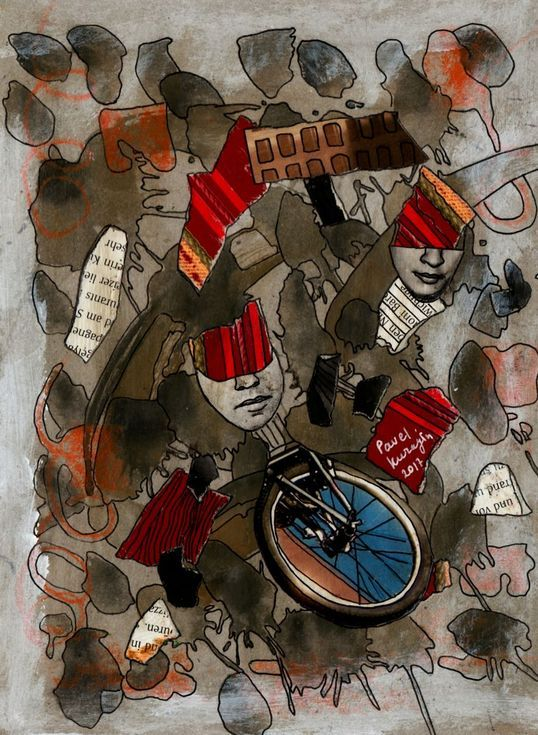 Buy Bicycle race, Collage by Pavel Kuragin on Artfinder. Discover thousands of other original paintings, prints, sculptures and photography from independent artists.
