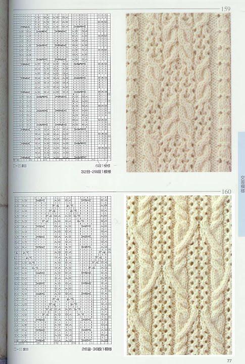 169 日本棒针花样编织250例 - 路过的精灵6 - Picasa Web Albums
