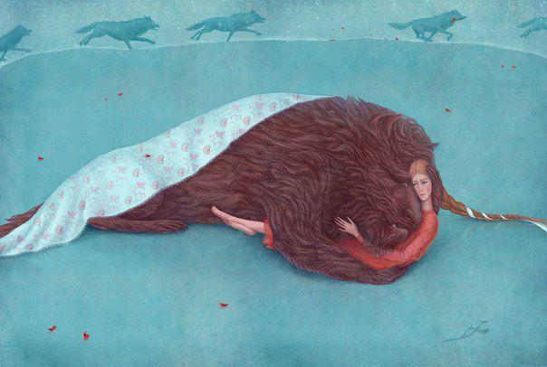 Beauty & the Beast by Galia Zinko