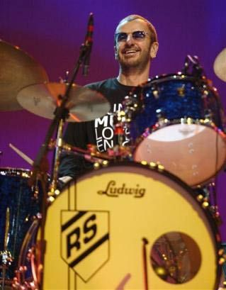 I saw Ringo and his All Star Band live last night and he was fantastic! What a great drummer and entertainer. He is a little dynamo. Love him to bits! Xx