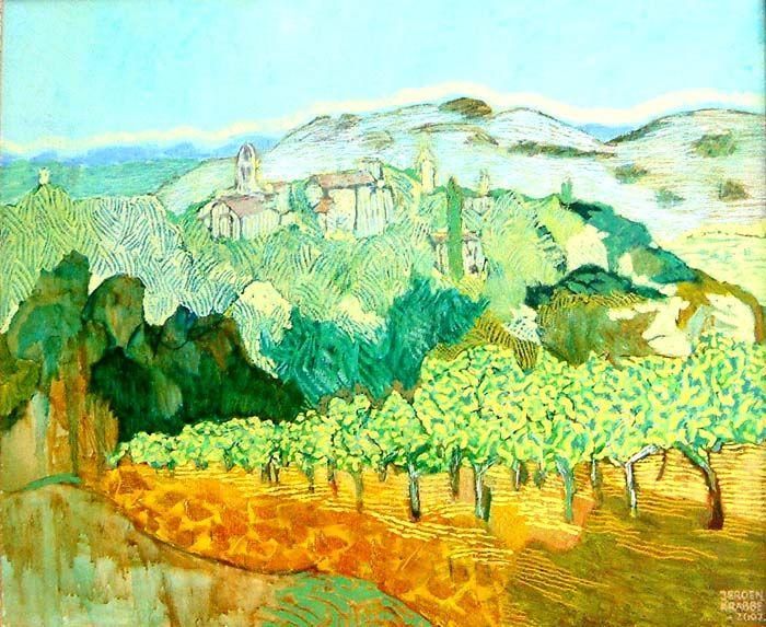 A painting by Jeroen Krabbé