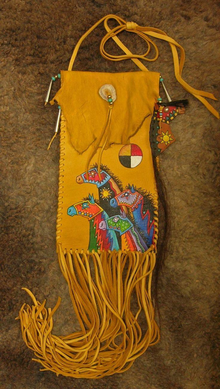 Fetish bag - love the horses on it-