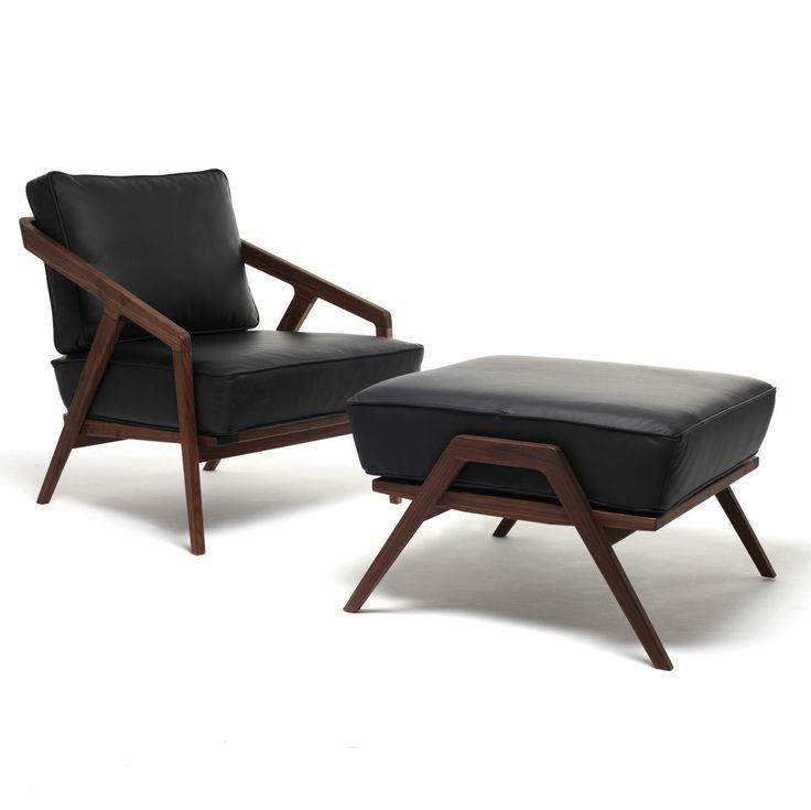 Katakana Low Chair Ottoman By Dare Studio