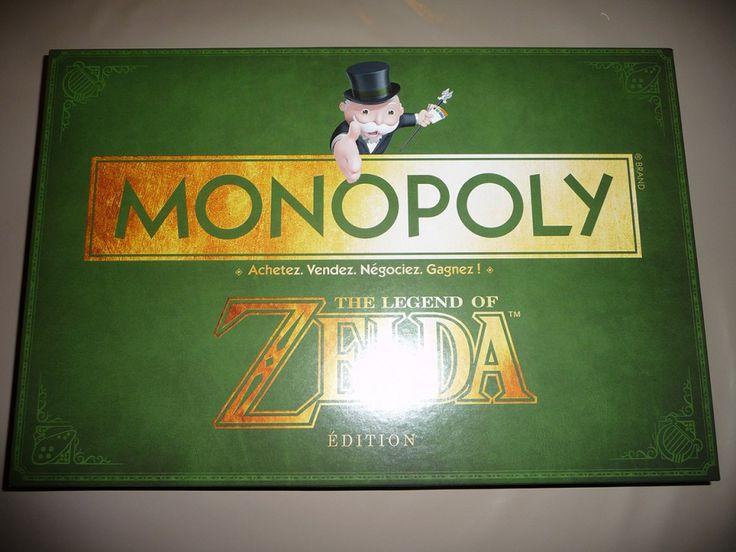 Objet perso : Monopoly Zelda