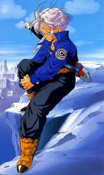 Trunks he's pretty much my favorite character....especially Future Trunks