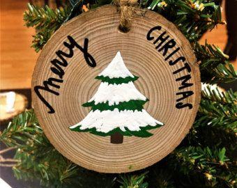 Items similar to Christmas Ornaments, Christmas Stockings, Christmas Tree Decor, Secret Santa Gift, Stocking Fillers, Rustic Christmas, Rustic Decoration on Etsy
