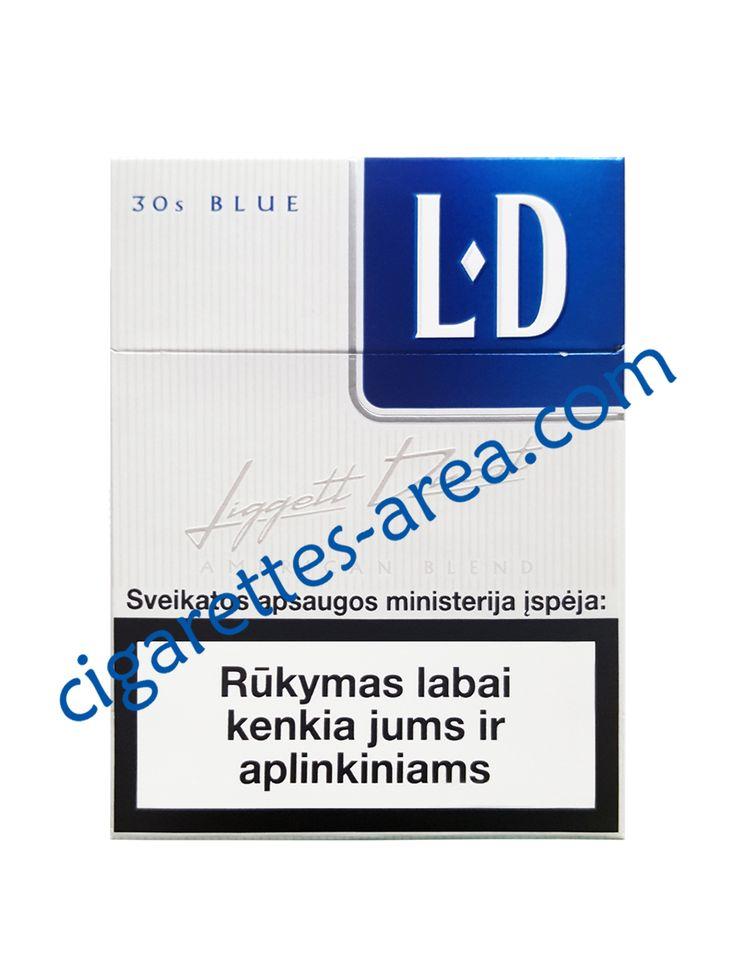 LD Blue 30s cigarettes