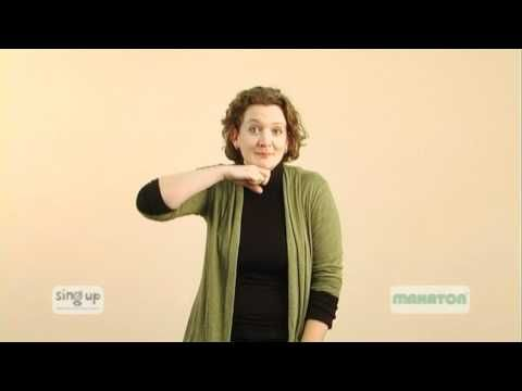 MAKATON - Five little speckled frogs