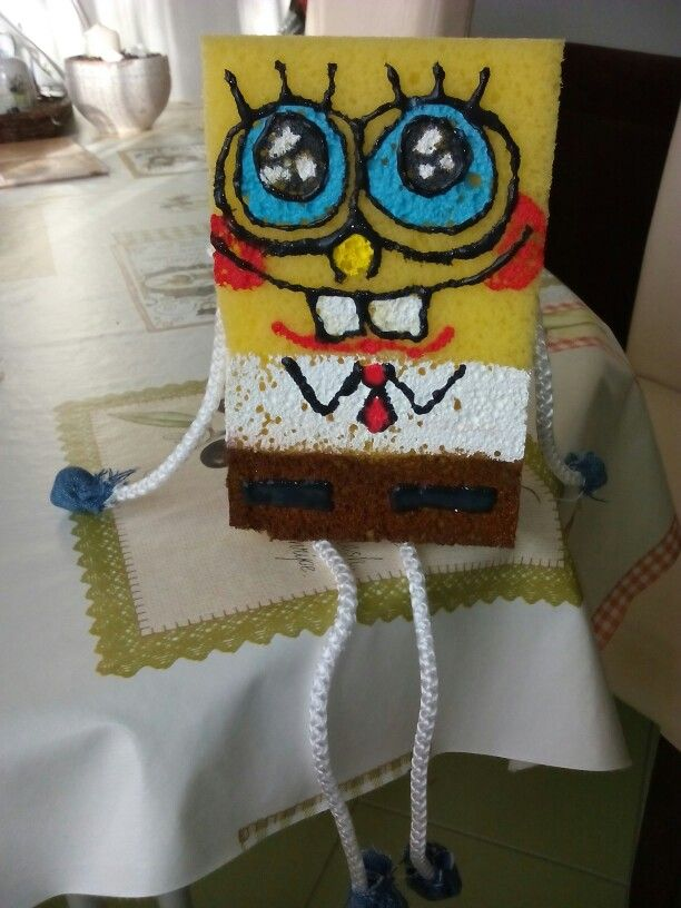 My son's spongebob