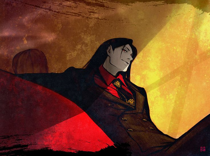 Holy f... this is one of the best Alucard fanarts I've ever seen. He's just gorgeous, the true No life king <3