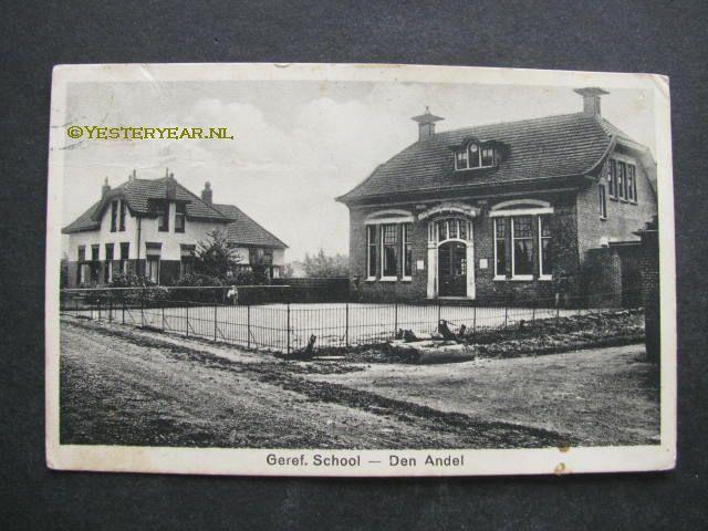 Den Andel ca. 1920 - Gereformeerde school