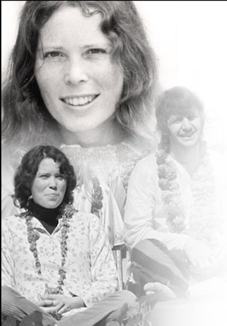 """Prudence Farrow (Bruns) the sister of Mia Farrow and the muse for the song """"Dear Prudence"""""""