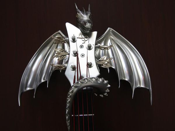 "Custom ""Draco"" Guitar by Emerald Guitars | 04"