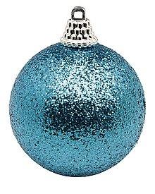 Bola de Navidad color turquesa