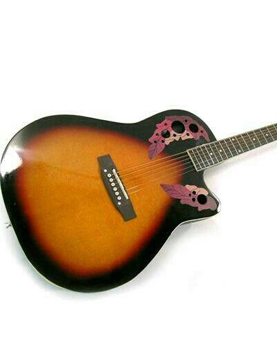 Vendo chitarra acustica elettrificata stile ovation Usata a 70!!!!!!!!!!! http://ift.tt/1m0kW8G