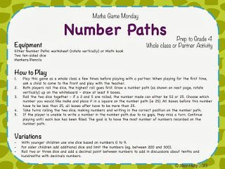 Number Paths