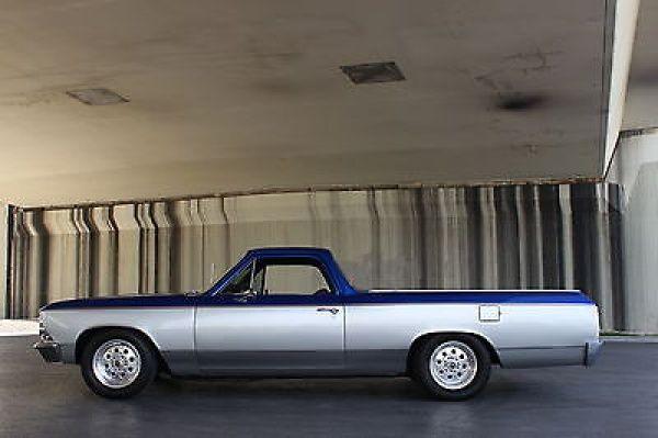 1966 Chevrolet El Camino Classic Rest Mod 1966 Chevrolet El Camino 454 Crate motor Pristine show truck ground up restored
