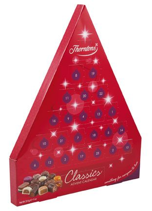 Classic Advent Calendar by Thorntons www.thorntons.co.uk