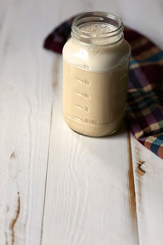 Maple Spiced Almond Milk with a hint of pumpkin
