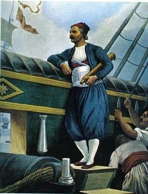 Ανδρεας Μιαουλης ο θρυλικος θαλασσομαχος 1821