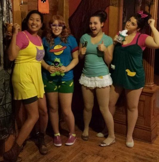 These Rugrats costumes you're totally jealous of: | 26 Insanely Clever Halloween Costumes Every TV Lover Will Want