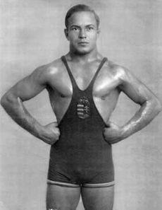 Kárpáty Károly 1936. Berlin, birkózás