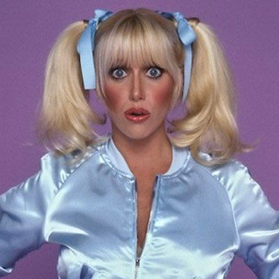Suzanne Sommers...as Chrissy Snow on Three's Company tv show