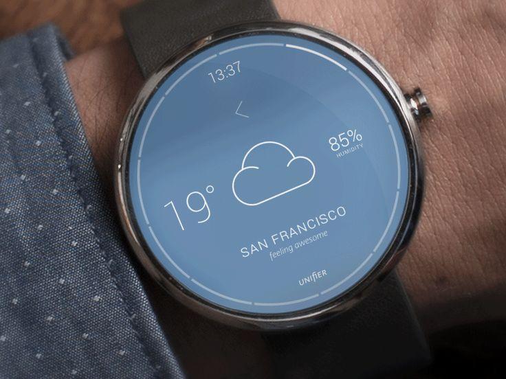 Moto 360 Smart watch, Wearable device, Android wear