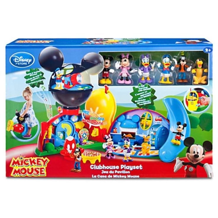 Amazon.com: Disney Exclusive Mickey Mouse Clubhouse Playset: Toys & Games