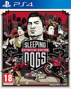 Sleeping Dogs Limited Edition PS4 PlayStation 4 Cover Art