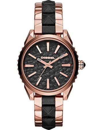 Diesel Watches DZ5473 Ladies Nuki Rose Gold Black Watch