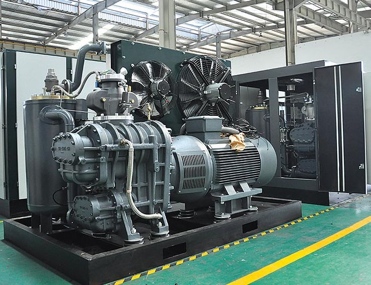 JN Two-stage Electric Screw Compressor