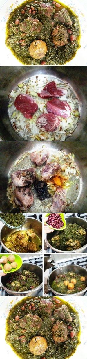Persian Herb Stew, the most original Persian dish.
