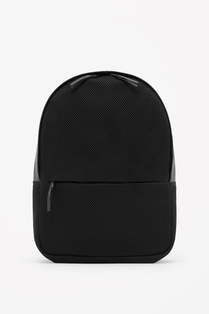 COS | Leather and mesh backpack