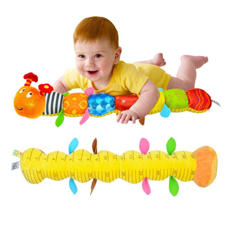 New Musical Baby Toys Caterpillar Rattle With Ring Bell Baby Mobiles Juguetes Bebe Early Educational Toys For 0-12months Baby