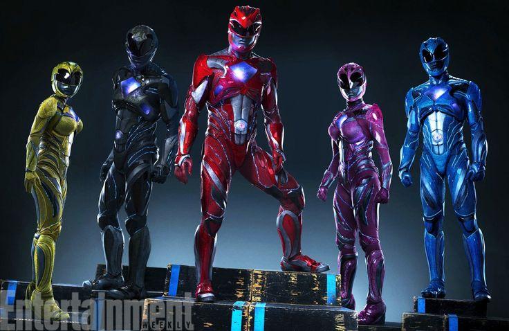 Power Rangers: ecco svelati i nuovi costumi!