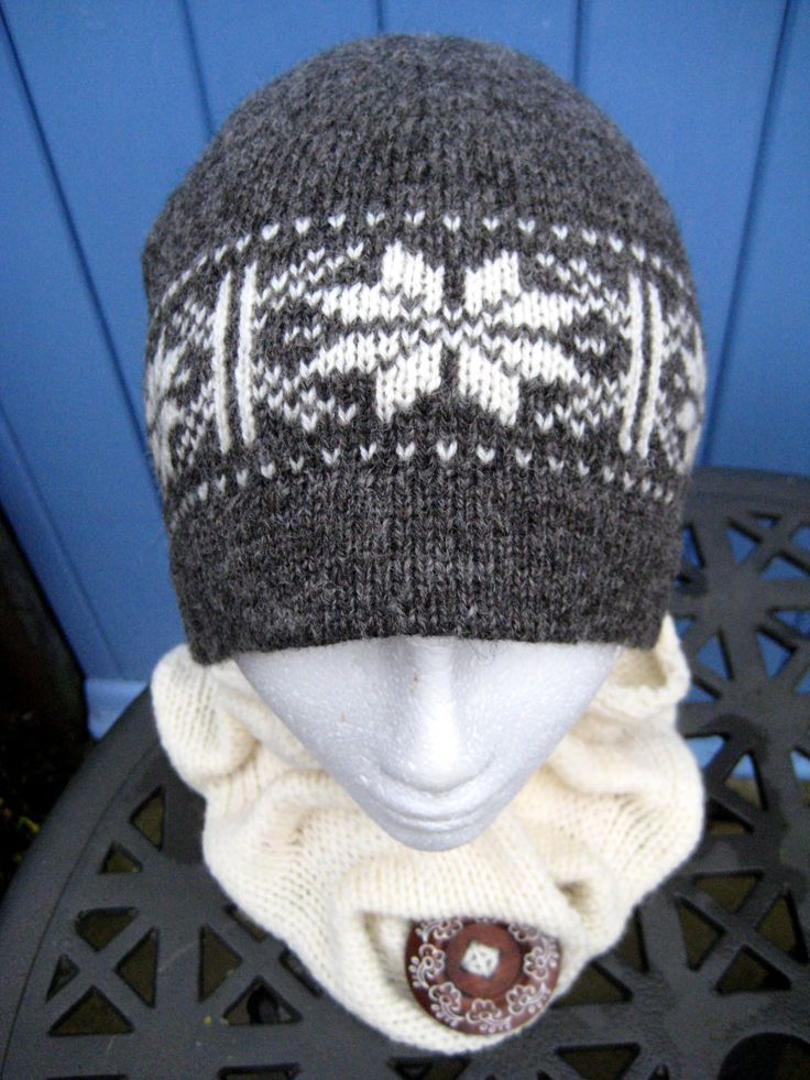 7 best fair isle hats images on Pinterest | Fair isles, Handmade ...