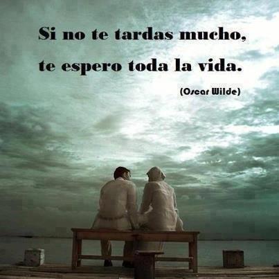 Oscar Wilde. Muy bello.