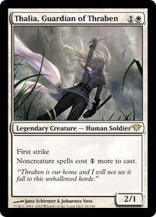 Thalia, Guardian of Thraben (Dark Ascension)
