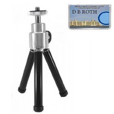 8 Professional STEEL Table Top Tripod For The Nikon Coolpix S1 S2 S3 S5 S6 S9 S7 S50 S51 S52 S60 P1 P2 4600 Digital Cameras >>> Learn more by visiting the image link.