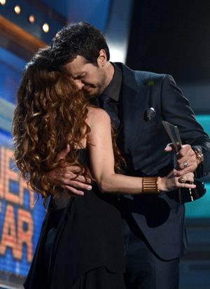 Luke Bryan is Your Entertainer of the Year! | Luke Bryan (Or Bryant as Shania says) took home the biggest prize at last night at the ACMs! It was a great night!