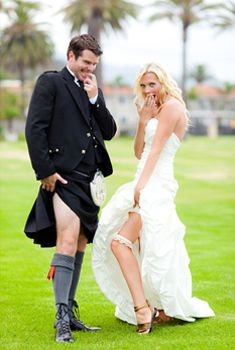 kilt wedding dress - Google Search